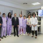 Inauguración de la unidad de cáncer de cervix de Osakidetza