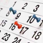 Este será el calendario laboral 2020 con los festivos nacionales y por servicios de salud
