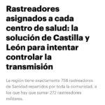 Reportaje sobre rastreos en Castilla y León