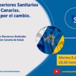 DEBATETSS: MARTES, 8 DE JUNIO A LAS 20:30H. Técnicos Superiores Sanitarios en Canarias. Trabajo por el cambio
